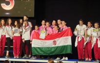 A magyar bajnokság után Zágrábban is remekeltek a szandiások