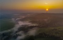 Hajnali köd Zalában