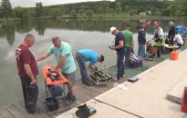 Hajómodellek száguldottak a hétvégén a Csó-tón