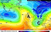 A nagy légtömegek vándorlási irányának változása okozhatja a szélsőséges időjárást