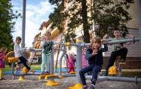 Átadták a Kanizsai Dorottya Kórház játszóterét
