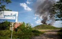 Tűz ütött ki a kanizsai hulladéklerakó-telepen