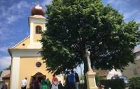 Ünnepi szentmisét tartottak a förhénci kápolnában