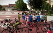Kerékpáros tábor a Rozgonyi-iskolában