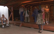 Színházi-napot tartottak Kisrécsén