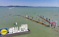 Balaton-átúszás - Túl az egymillió kilométeren
