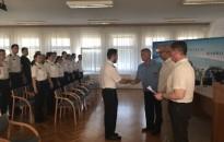 Pályakezdő tiszteket köszöntöttek Zalában