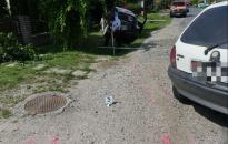 Két gyereket és egy asszonyt ütöttek el Pölöskén