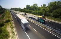 Az átépítés alatt álló M70-es autóút