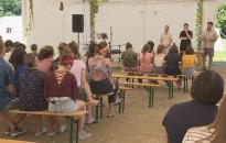 Tartalmas napokat töltenek a fiatalok a Szent Rita Katolikus Ifjúsági Táborban