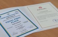 Első helyezést ért el a nemzetközi fogalmazói verseny elődöntőjében a magyar csapat