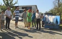 Több mázsa búzát adományoztak a letenyei gazdák a Magyarok Kenyere Programnak