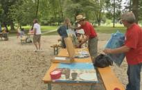 Nemzetközi Festő Szimpózium volt a letenyei platánfa alatt