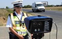 Csaknem tízezer sebességtúllépést regisztrált a rendőrség egy hét alatt