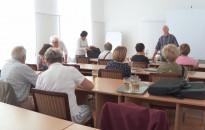 Szezonnyitó előadást tartott a Vasutas Kert- és Természetbarát Klub