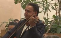 Jótékonysági koncertet adott Mága Zoltán hegedűművész a Felsőtemplomban