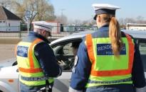 Az ellenőrzött autósok ötödét büntették az egyhetes akció alatt