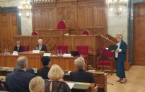 A bírósági szervezet több kimagasló díjban is részesült tegnap az Országházban