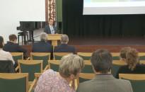 Környezetvédelmi konferenciát tartottak a Medgyaszay Házban