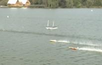 Modellezőversenyt rendeztek a hétvégén a Csó-tón