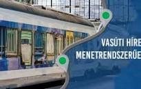 Változik a vonatközlekedés rendje október 23-án