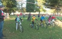 Tehetségkutató versenyt tartott a Kanizsa 14 Kerékpáros Egyesület a Csónakázó-tónál