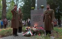 Az elesett hősökre emlékeztek