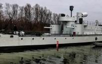 Úszó múzeum lett az egykori magyar Bodrog monitorból