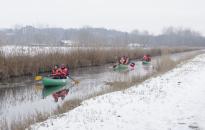 Idén télen is lehet evezni a Hévízi-csatornán