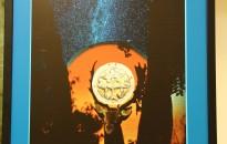 Könyv István János alkotásaiból nyílt kiállítás a Mező-gimnáziumban