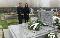Ismét mécses égett Becsehelyen dr. Vlasics Antal emlékére