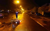 Motoros baleset Kiskanizsán