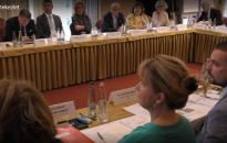 Elnöki értekezlet a törvényszékek és ítélőtáblák vezetőinek: dr. Sorok Norbert is részt vett a megbeszélésen