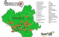 Térképen Murafölde nagyobb borászatai – Horváth István nem viccel: legyen turisztikai célpont a dél-zalai bor is