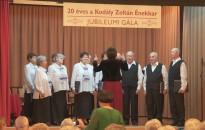 Kiállítással és gálaműsorral ünnepelte 20 éves jubileumát szerdán a Kodály Zoltán Énekkar