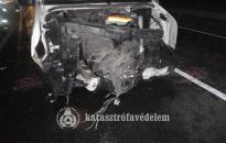Három kisbusz és egy személyautó ütközött Letenyénél