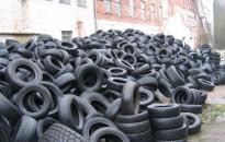 Magyarországon a használt gumiabroncsok 85 százalékát újrahasznosítják