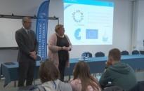 Az Európai Unió jövőjéről tartott előadást Zupkó Gábor a Cserháti-iskolában