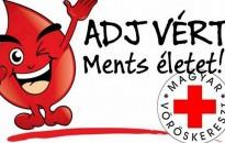 Véradásra hív az Országos Vérellátó Szolgálat és a Magyar Vöröskereszt