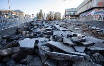 Elkezdték az Eötvös tér felújítását –  az ÉVE frakciója sérelmezi a városfejlesztő projekttel kapcsolatos kommunikációját