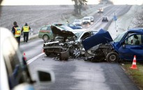 Halálos baleset miatt lezárták a 7-es főutat Rigyácnál