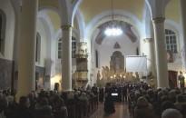 Adventi hangversenyt adott a hétvégén a Farkas Ferenc Énekegyüttes