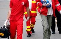 A mentők az ünnepek alatt is teljes készenlétben állnak