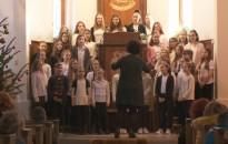 A református templomban ért véget a Rozgonyi-iskola adventi programsorozata