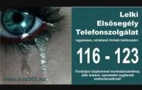 Idén is körülbelül 170 ezer hívást fogadott a lelkielsősegély-szolgálat