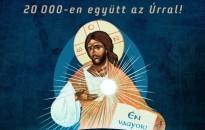 Húszezren együtt az Úrral