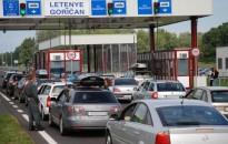 Tizedével nőtt a magyar-horvát határforgalom Letenyén