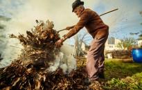 Kerti hulladék égetése során tartsuk be a szabályokat