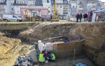 Restaurálják a Zalegerszegen talált középkori téglaégető kemencéket