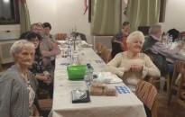 Farsangoltak a Miklósfai Nyugdíjas Klub tagjai